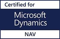 Certified for Microsoft Dynamics NAV